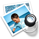photos, images, preview Black icon