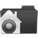 vault, Folder DarkSlateGray icon