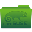 Folder, open, Suse OliveDrab icon