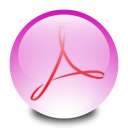 Acrobat, professional, adobe Thistle icon