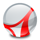Acrobat, reader, adobe Gainsboro icon