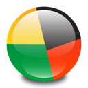 Antivirus, avg Black icon