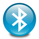 Bt, Bluetooth LightSeaGreen icon