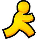 Messenger, instant, Aol Gold icon