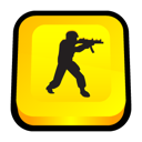 Counter strike, zero, Condition, Strike, Counter Gold icon