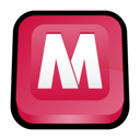 security, Mcafee, Center IndianRed icon