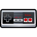 nintendo, Nes Black icon