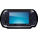 psp, Playstation Black icon