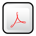 adobe, cs3, Acrobat Icon