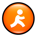 Aim, express DarkOrange icon