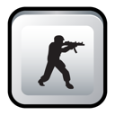 Counter, Strike Black icon