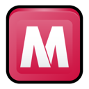Mcafee, Center, security IndianRed icon
