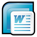 2007, office, word, microsoft Icon