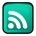 feed, Rss LightSeaGreen icon