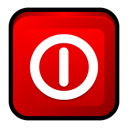 off, windows, turn Red icon