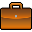 Briefcase Chocolate icon