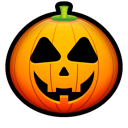 halloween, jack o lantern, pumpkin Black icon