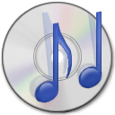 Cdrom, Dev, Audio Gainsboro icon