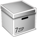 Box, 7zip Silver icon