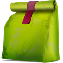 food, sale, Box YellowGreen icon