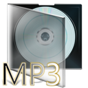 Cd, Box, fichier, mp3 DarkGray icon