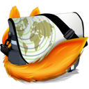 baggs, Firefox Black icon
