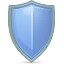shield CornflowerBlue icon
