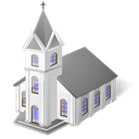 church, temple, jesus, Catholictemple, religion Black icon