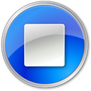 Blue, stop DodgerBlue icon