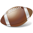 Football, sports, American football, Ball Black icon