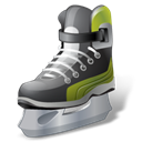 sports, Hockey, iceskate Black icon