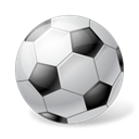 Ball, sports, Football, soccer Black icon