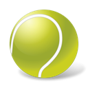 Ball, sport, tennis, sports YellowGreen icon