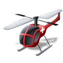 vehicle, medical, Helicopter, transportation Black icon