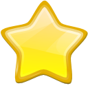 star, etoile, new, bookmark Khaki icon