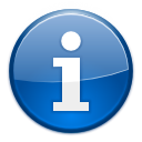 Information SteelBlue icon