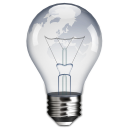 light, bulb, Idea, hint DarkGray icon