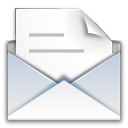 Message, new, messages, mail, read Gainsboro icon