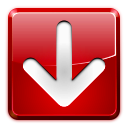 download, Left, red, Arrow DarkRed icon