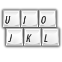 Keyboard, Characters WhiteSmoke icon