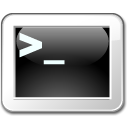 terminal, root, Gksu DarkSlateGray icon