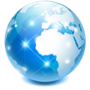 globe, earth, internet, Browser, world, web, network Black icon