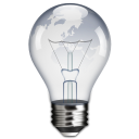 lightbulb, Idea, power Black icon