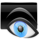 Eye, previewer DarkSlateGray icon