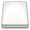 harddisk, drive Snow icon