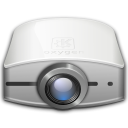 Projector, video Black icon