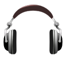 sound, Emblem, Audio, Headphones, music DarkSlateGray icon