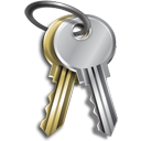 password, Key, login, private, security, Keys, secure Silver icon