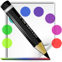 Colors, mime, theme WhiteSmoke icon
