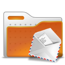 envelope, Folder, mail Chocolate icon